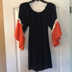 Orange and Blue dress/tunic